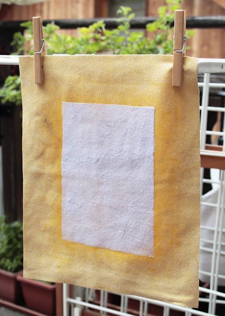 come-fare-fogli-carta-riciclata-asciugatura