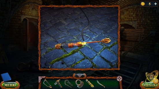 поджигаем шнур хранителем огня и происходит взрыв в игре затерянные земли 6