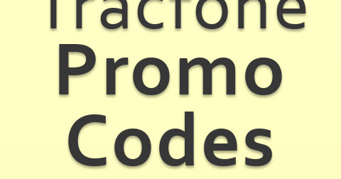 Tracfone Promo Codes for May 2018