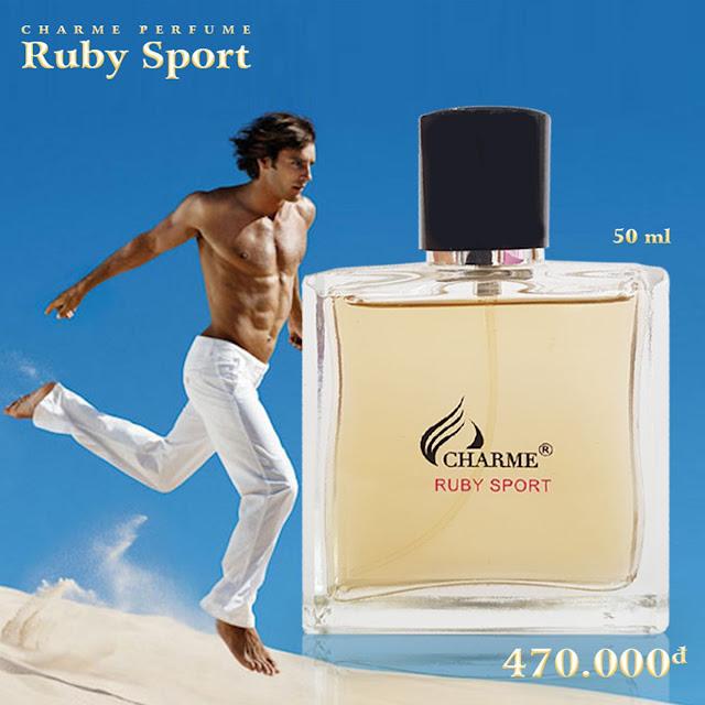 Nước hoa Charme Ruby Sport chính hãng tại Quảng trị