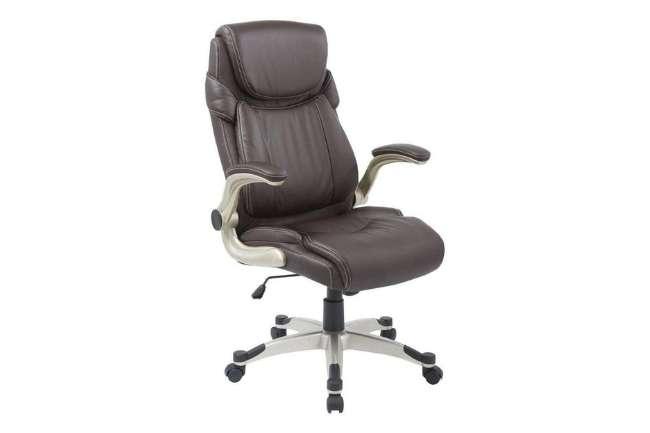 Cadeira Presidente Pelegrin Pel-4209 em Couro Pu