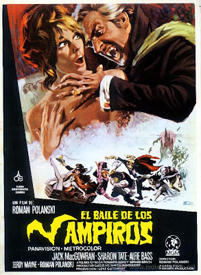 """Cartel de la película """"El baile de los vampiros"""""""