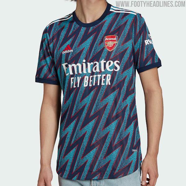 Arsenal 21-22 Third Kit Released - Footy Headlines