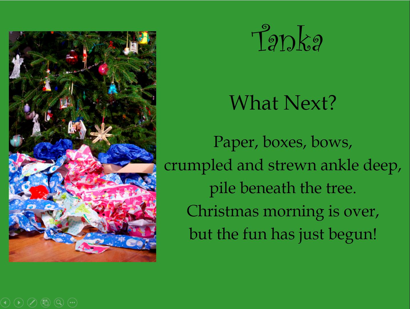 Tapestry of Words: POETRY FRIDAY: Tanka Poetry