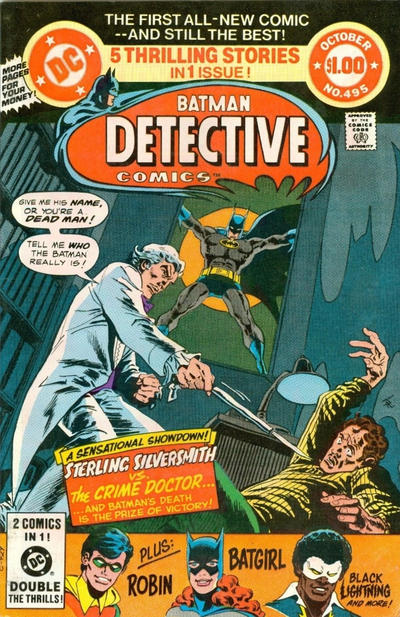 Rip jaggers dojo black lightning strikes twice the collection wraps up with black lightnings short run in detective comics a logical enough place for the street level hero despite being a denizen of fandeluxe Images
