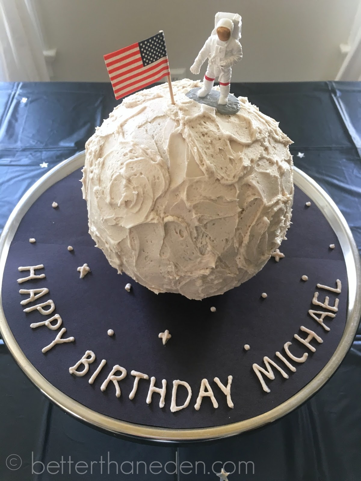 A Simple Outer Space Birthday