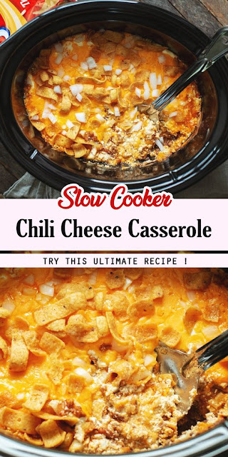 Slow Cooker Chili Cheese Casserole