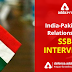 India-Pakistan Relations for SSB Interview