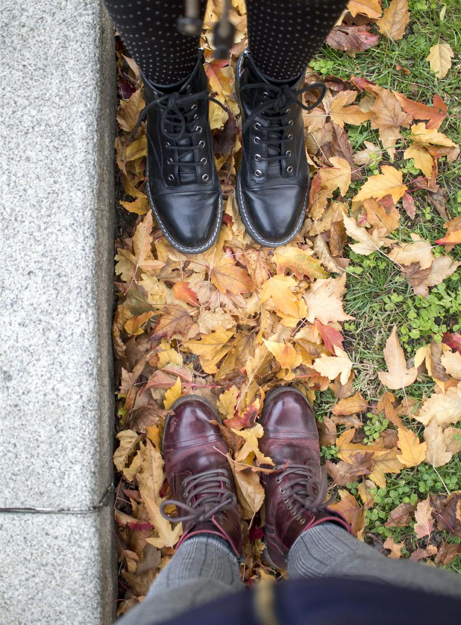 madrid ciudad otoño