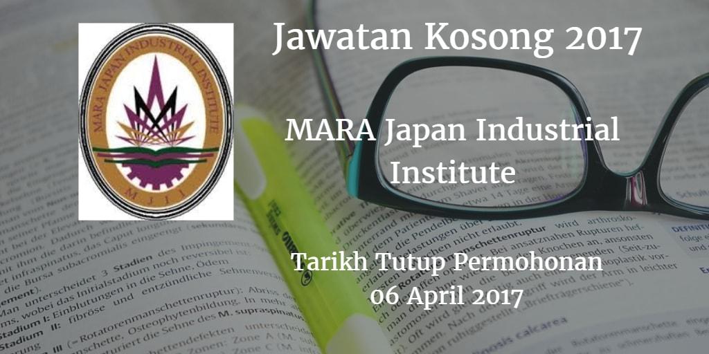 Jawatan Kosong MJII 06 April 2017