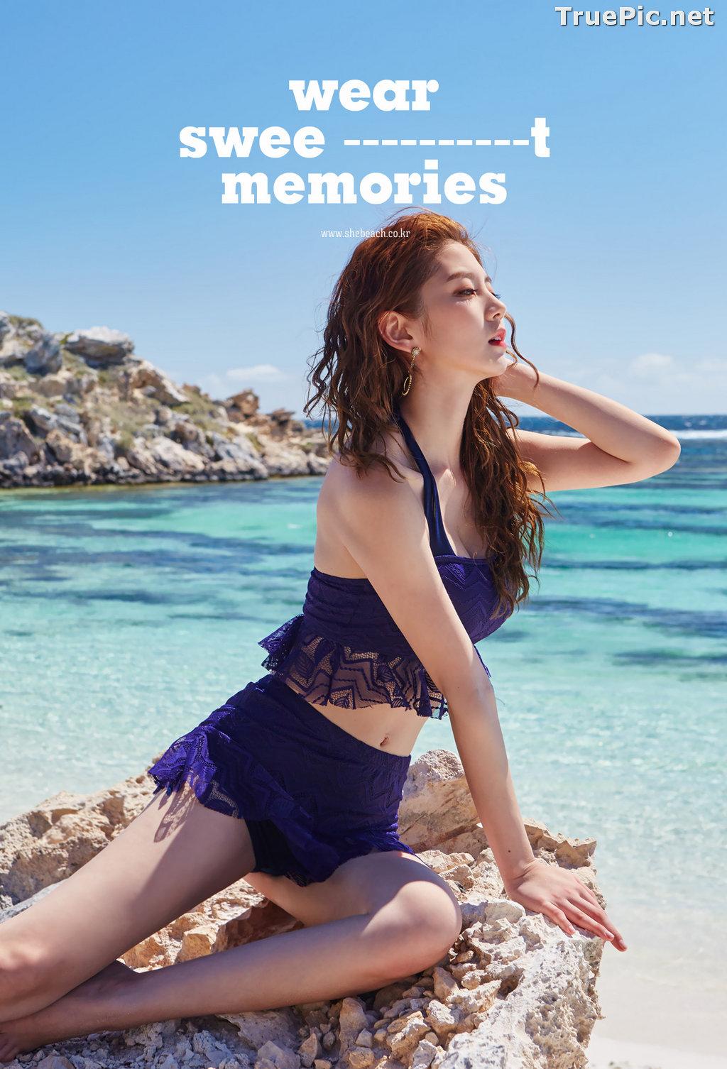 Image Lee Chae Eun - Korean Fashion Model - Magic Fit Beachwear Set - TruePic.net - Picture-5