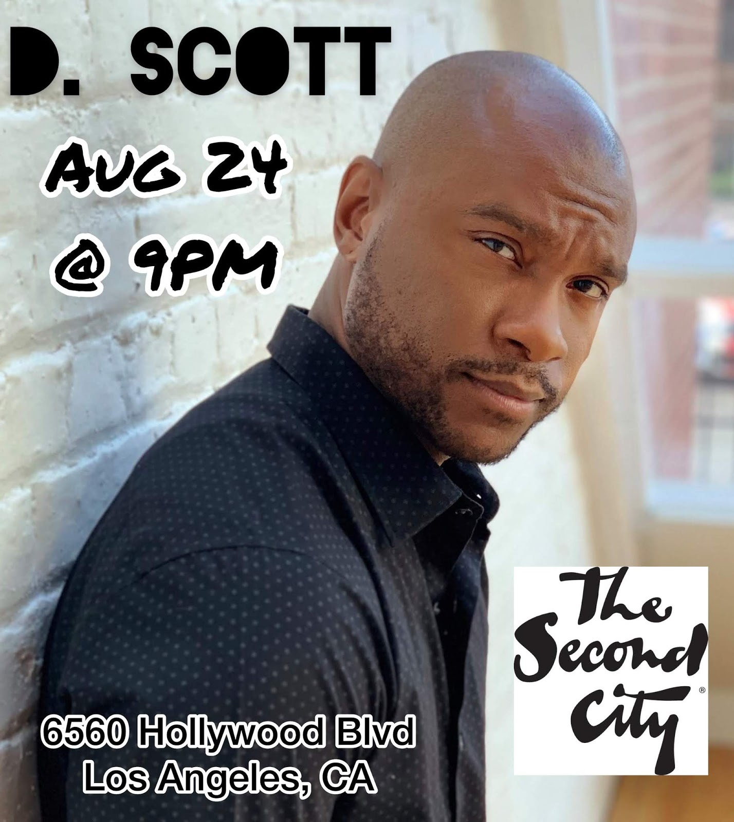 SHOW-TIME: Second City (Los Angeles, California) (8/24/19)