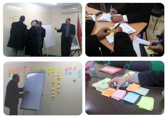 خبير التخطيط الاستراتيجي ذ. محمد يحياوي في ضيافة المركز الجهوي لمهن التربية والتكوين بكلميم