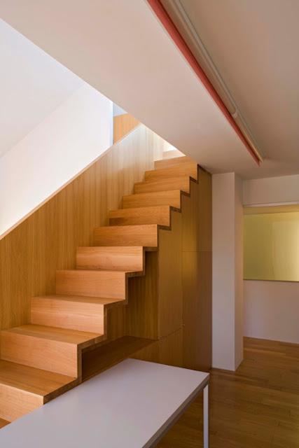 Ide Desain Tangga Ruang Sempit