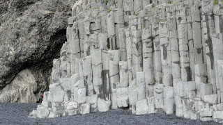 Polygon stones in Iceland