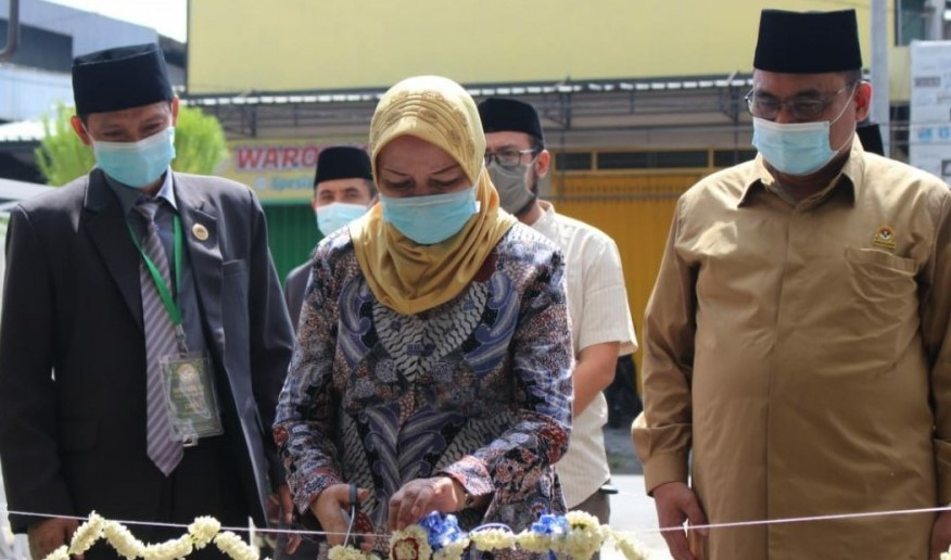 Bupati Kediri, dr. Hj. Haryanti Sutrisno Meresmikan Gedung Baru DPD LDII Kabupaten Kediri