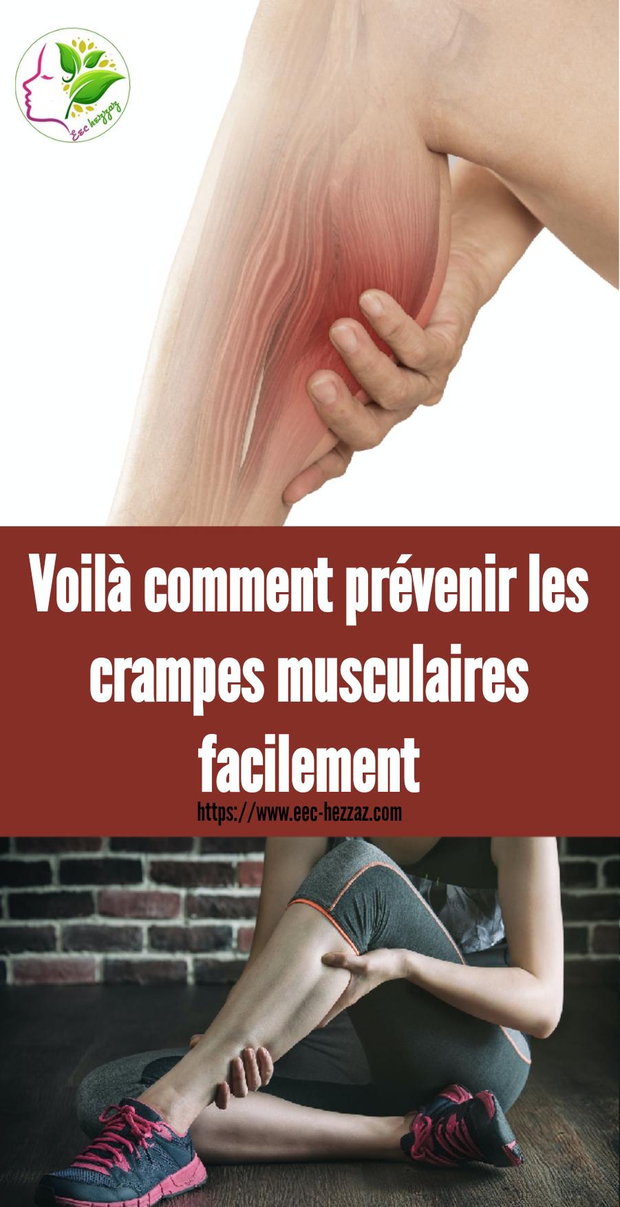 Voilà comment prévenir les crampes musculaires facilement