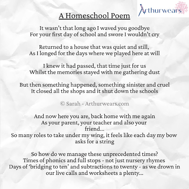 a homeschooling poem - benefits of homeschool