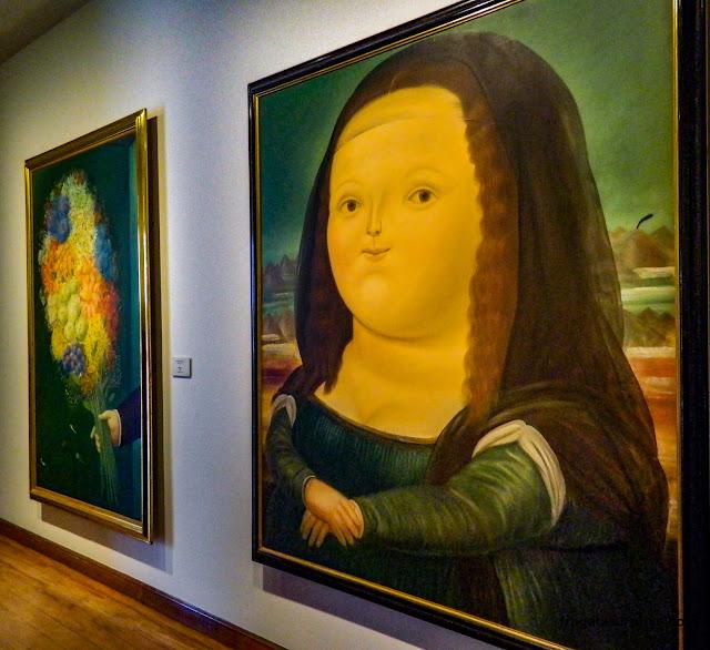 Mona Lisa de Fernando Botero