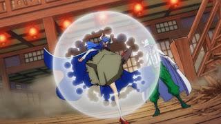 ワンピースアニメ 989話   百獣海賊団 飛び六胞 うるティ ULTI    ページワン ペーたん PAGE ONE   ONE PIECE Beasts Pirates Tobiroppo