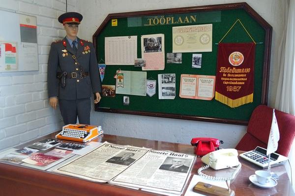 estonie tallinn hôtel viru musée KGB