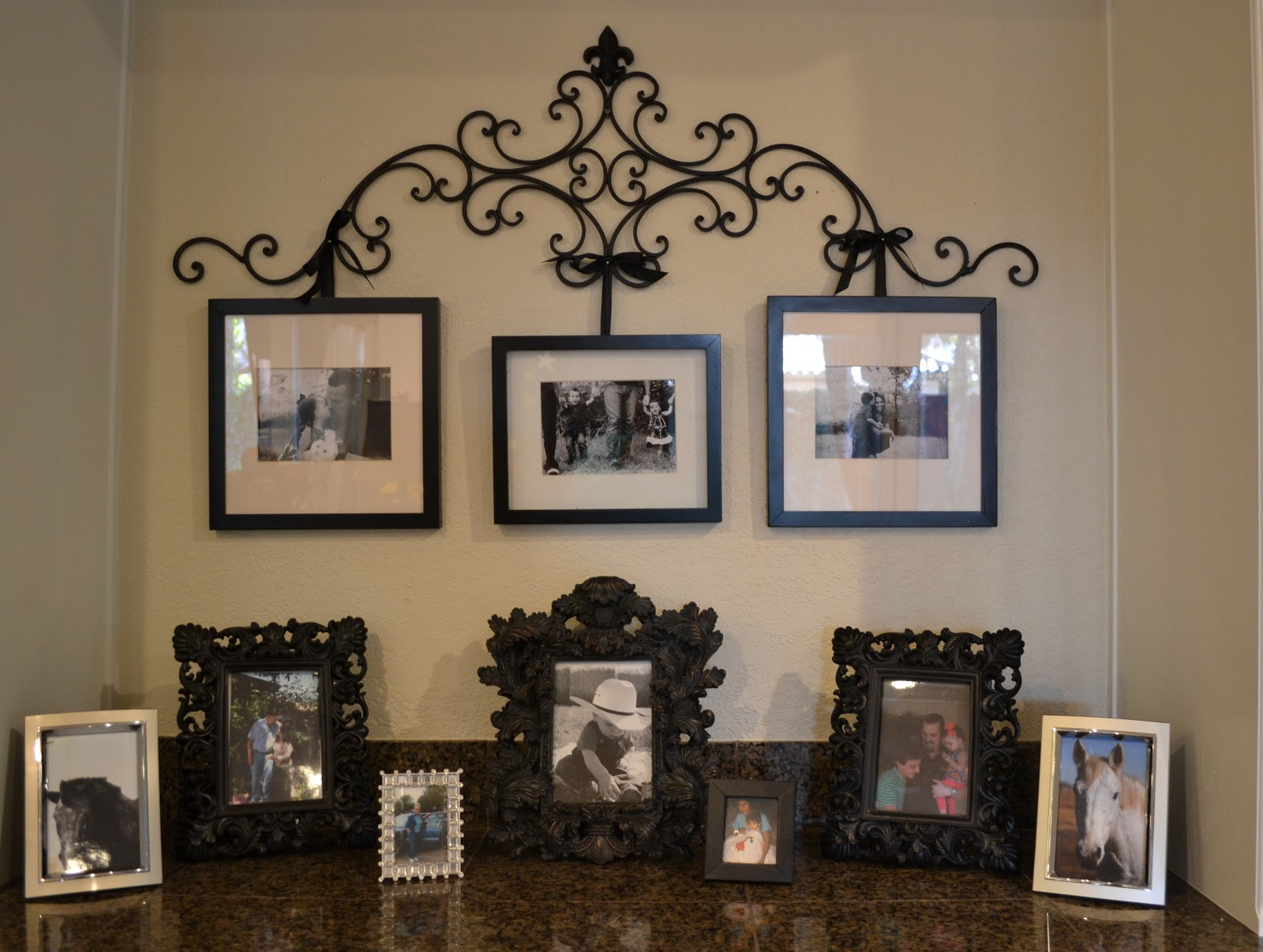 Therapy. Everyone Needs Some.: DIY Wrought Iron Picture