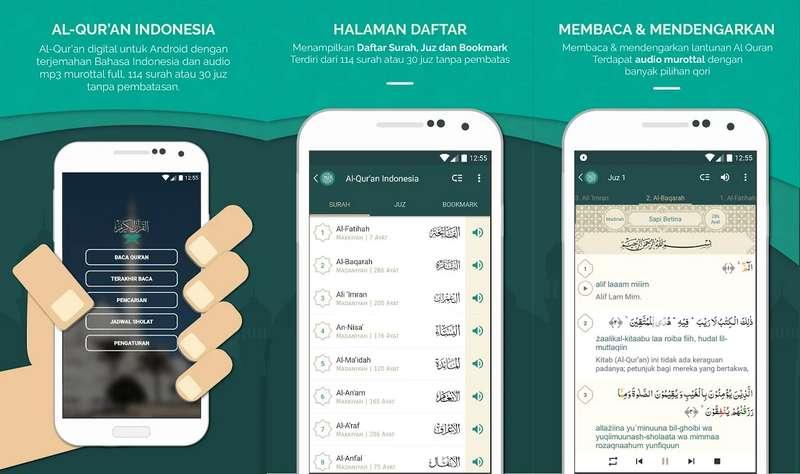 Aplikasi Al Quran Indonesia