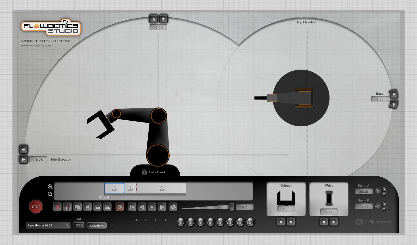 DSP Robotics Blog: New Flowbotics Studio - Robot Software