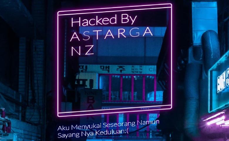 Website Tribunnews Diretas Hacker Astarganz