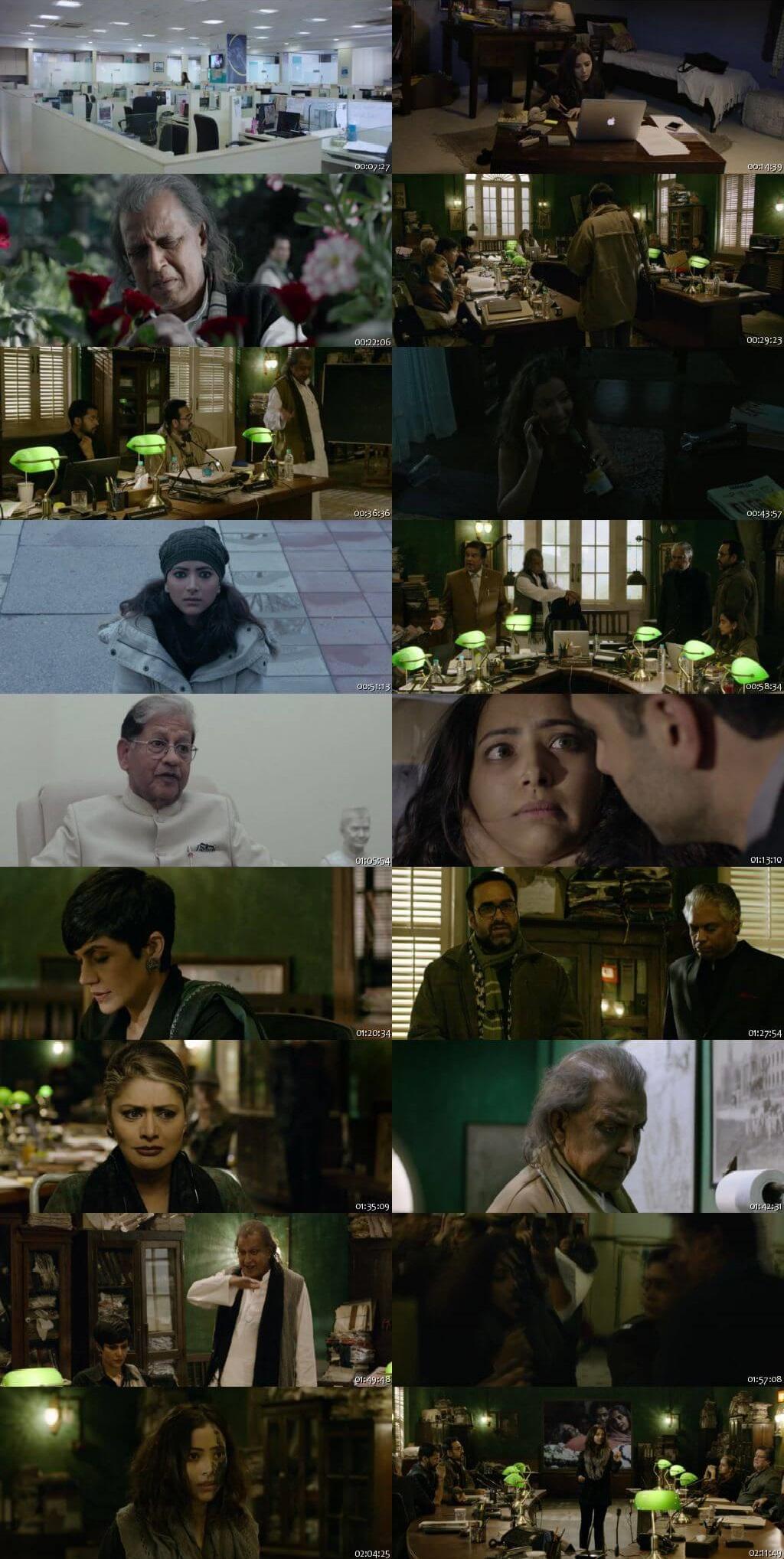 Screen Shot Of The Tashkent Files 2019 Full Movie Free Download HD 720P Watch Online