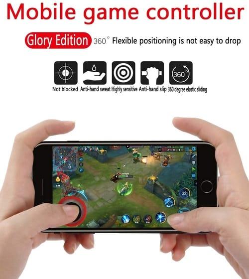 Review Vakili Mobile Game Joystick Game Controller