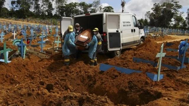 Covid-19: Brasil passa 547 mil mortos, mas tem menor média móvel desde fevereiro