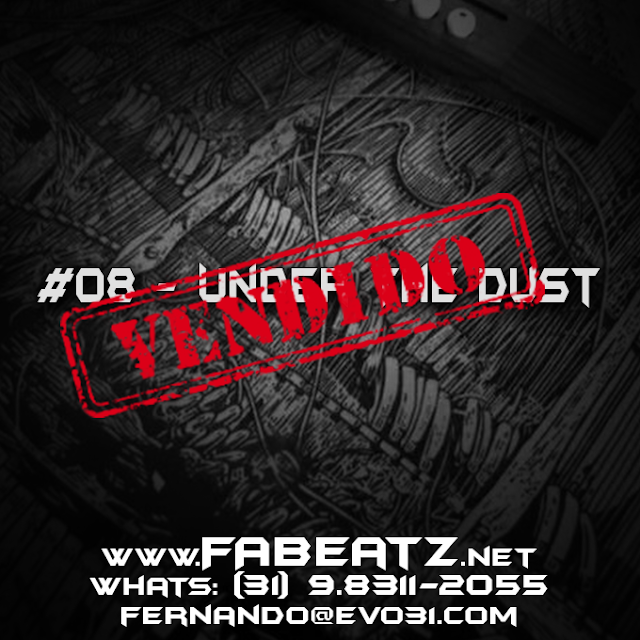 #8 - Under The Dust [85 BPM] VENDIDO | (31) 93811-2055