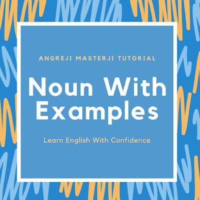 noun with examples