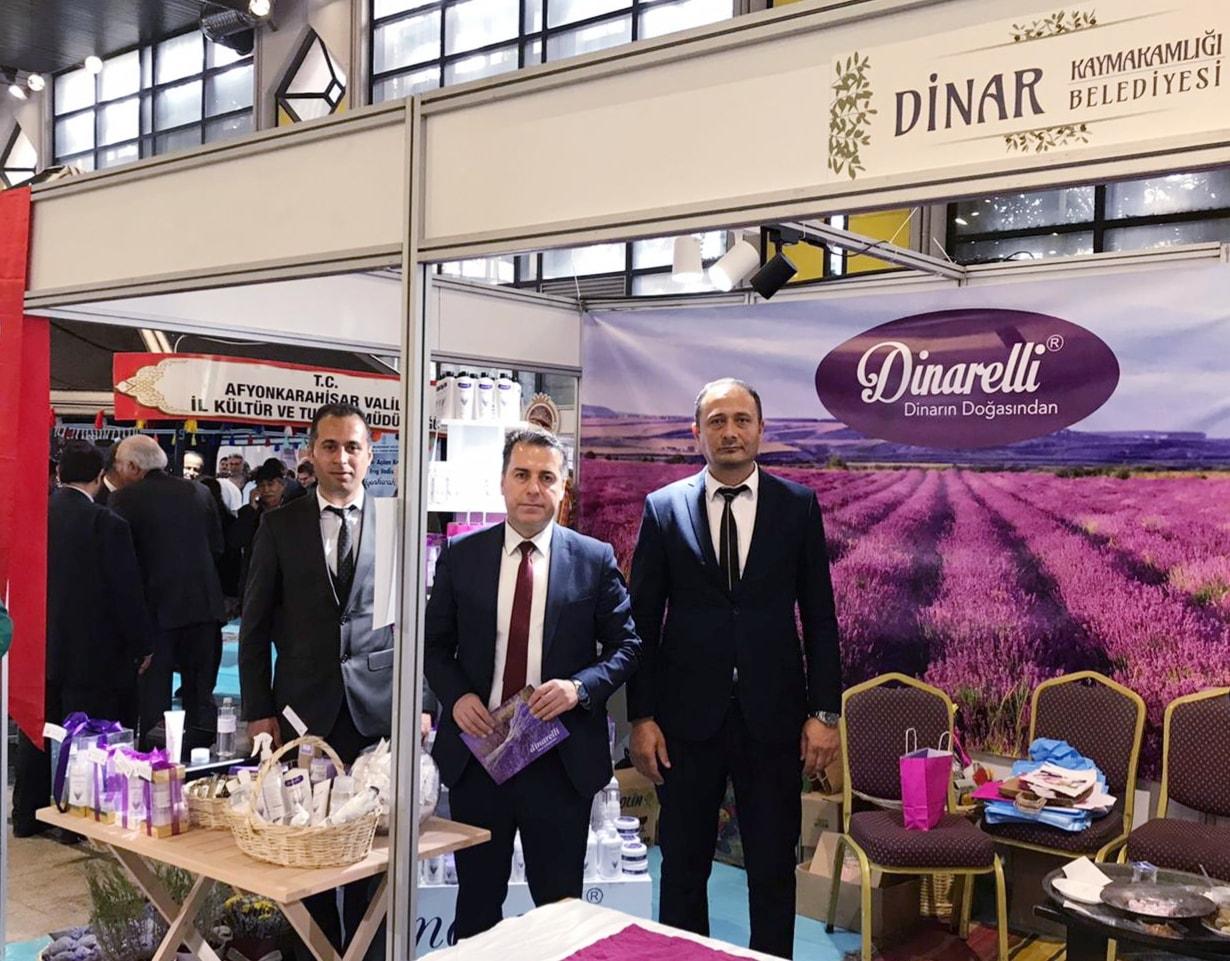 Dinarelli Lavanta Ürünleri 2019 Ege İlleri Tanıtım Günlerinde