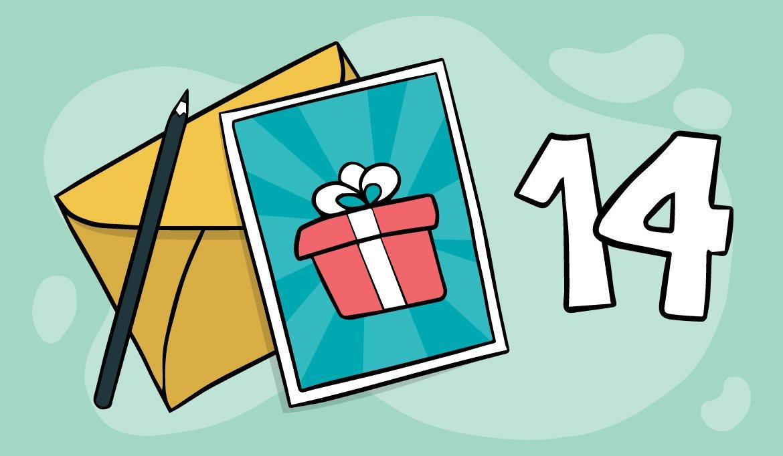 29 Glückwünsche zum 14. Geburtstag
