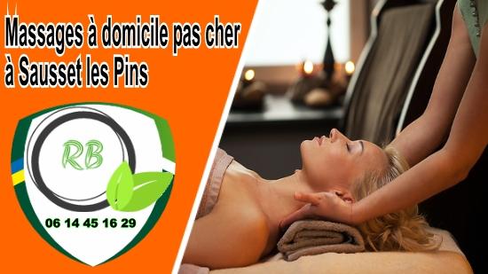 Massages à domicile pas cher à Sausset les Pins;