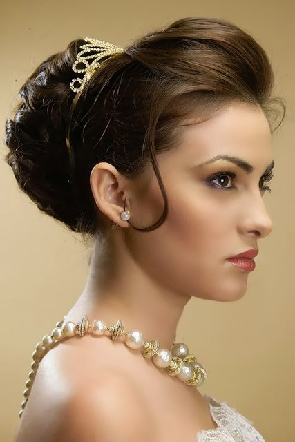 Best Bridal Hairstyles for Long Hiar with Veil Half Up 2013 For short hair indian Half Up Half Down | Bridal Hairstyles