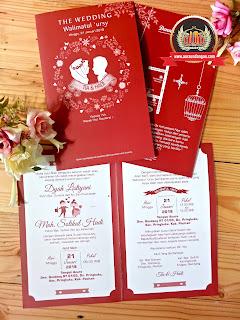 undangan nikah simple tapi mewah dan elegan