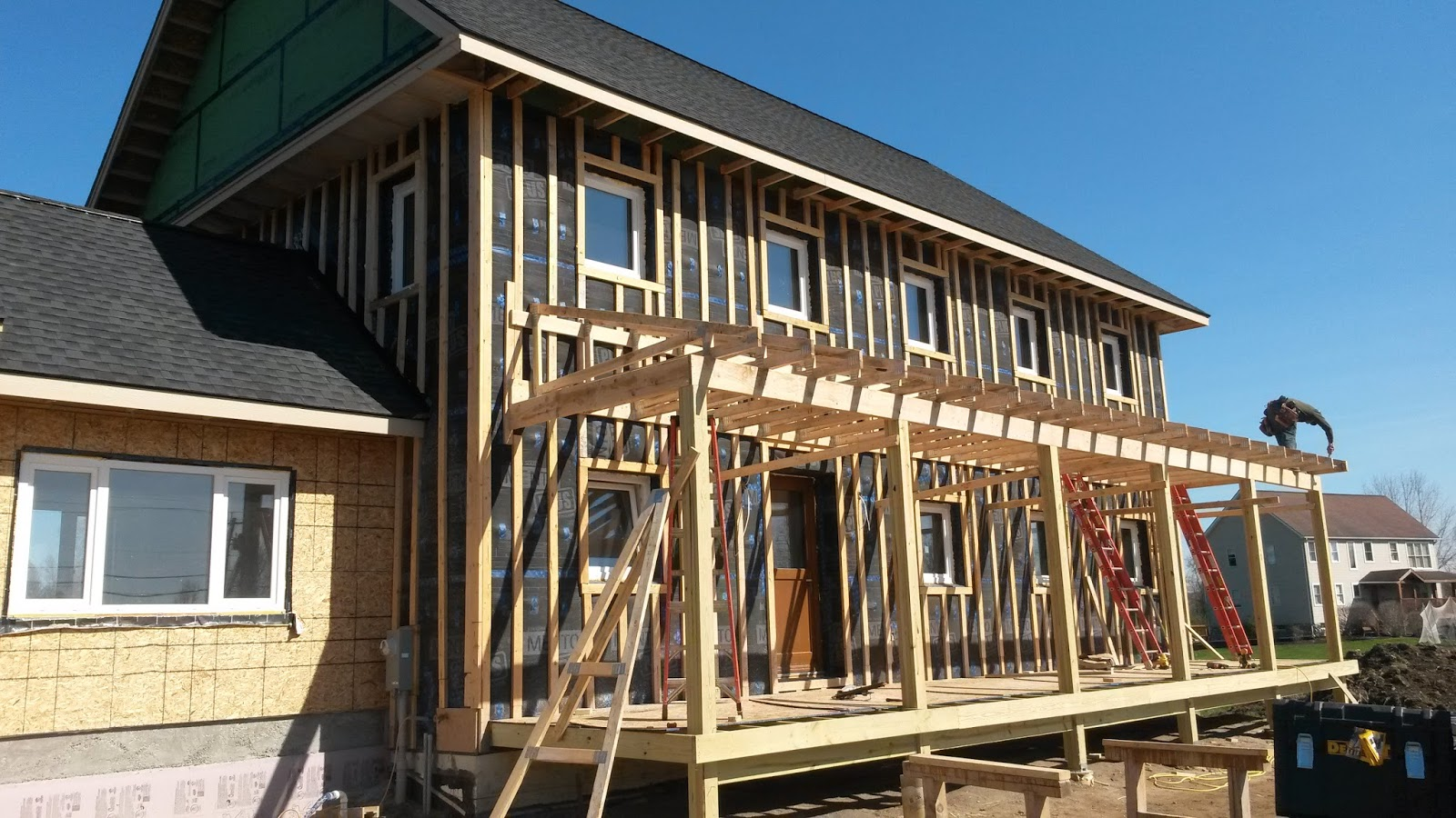 Rochester Passive House Construction Update 3