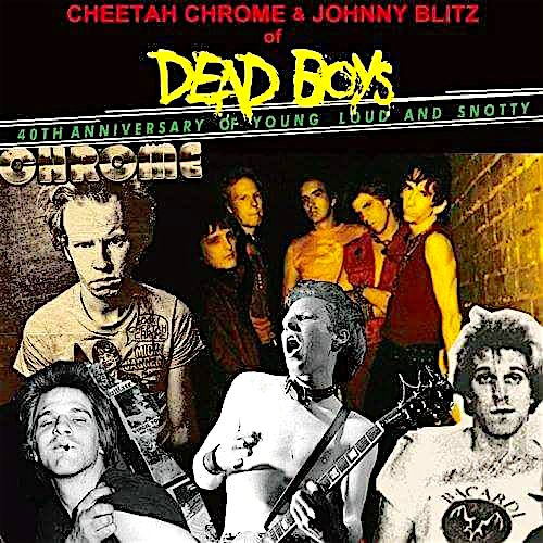 Cheetah Chrome + Johnny Blitz @ Stop, Drop & Roll, Monday