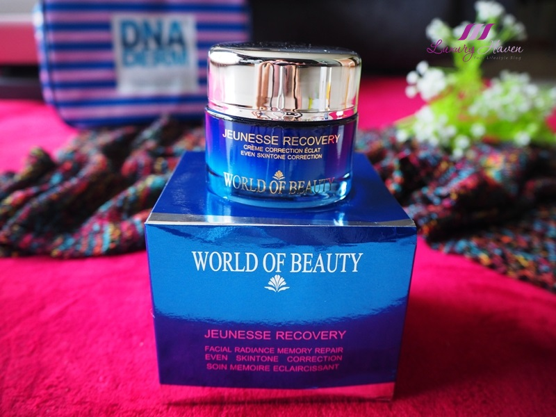 world of beauty jeunesse recovery cream review