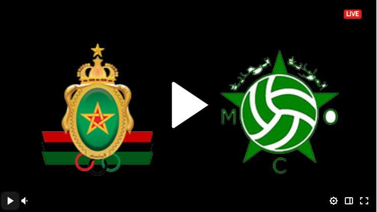 موعد مباراة مولودية وجدة والجيش الملكي اليوم بتاريخ 22-09-2021 في الدوري المغربي