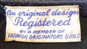 When fashion sought to protect itself through private collective action: recalling the Fashion Originators Guild