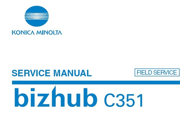 konica minolta bizhub c351 service manual printer manual guide rh printermanualguides blogspot com bizhub c351 service manual Repair Manuals