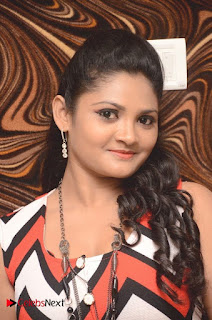 Telugu Actress Vasavi Reddy  Pictures in Short Dress  0001.jpg