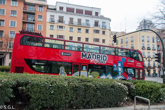 Autobus City Tour Madrid