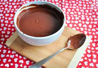 ganache de chocolate