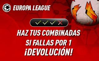 "sportium Europa League: Combinada ""con seguro"" 3 octubre 2019"