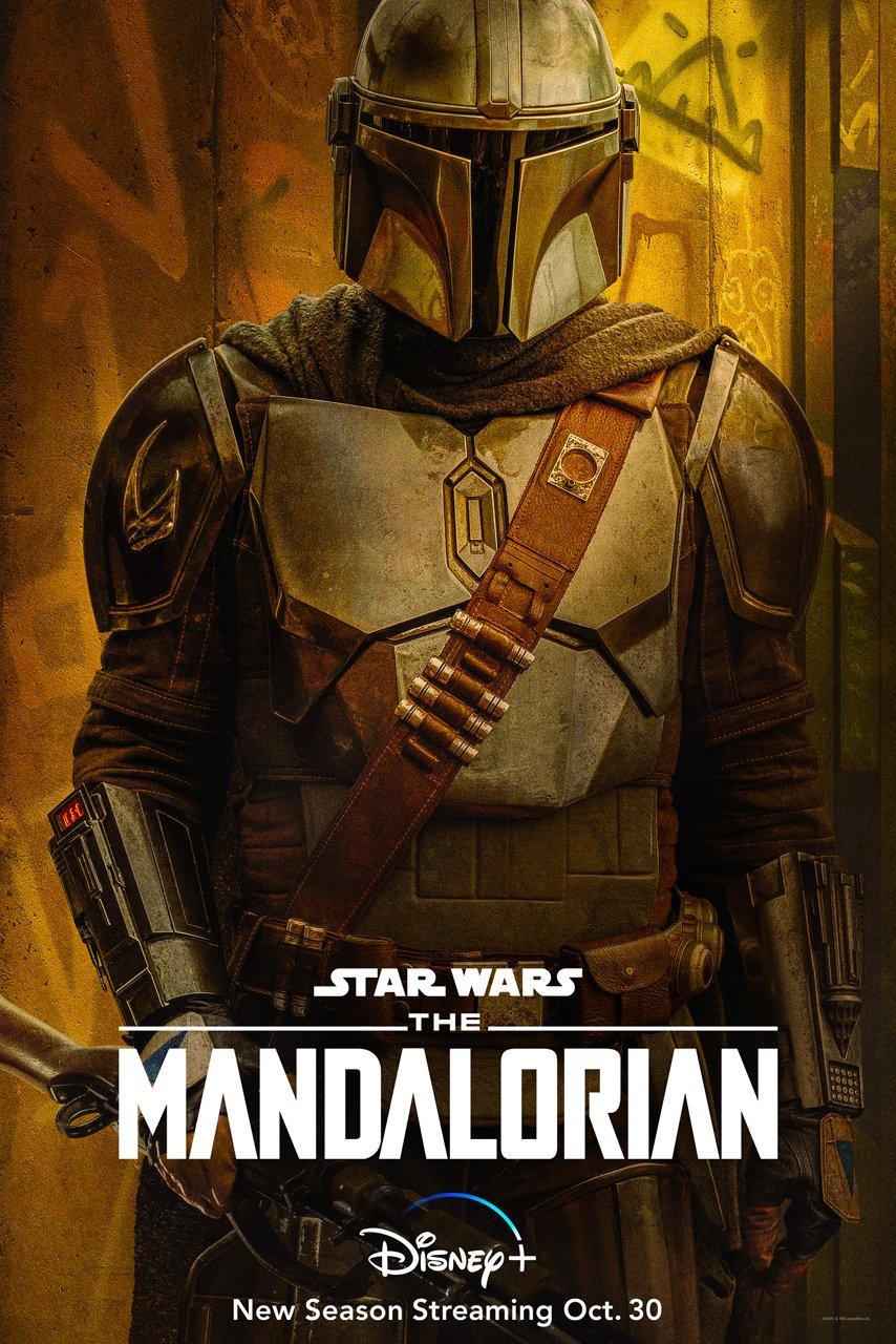 The Mandalorian: 2ª Temporada Recebe Novos Pôsteres Destacando os Personagens